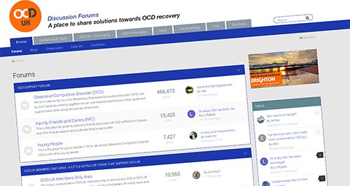 The purpose of the OCD-UK forums